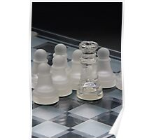 Chess Queen Following Poster