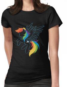 Colors of the Rainbow Womens Fitted T-Shirt