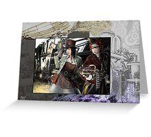 steampunks Greeting Card