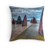 Geelong Water Front Throw Pillow