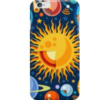 Solar System Infographics iPhone Case/Skin