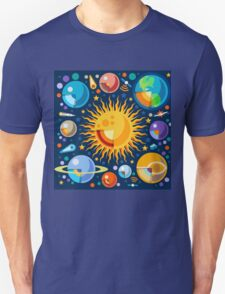 Solar System Infographics T-Shirt