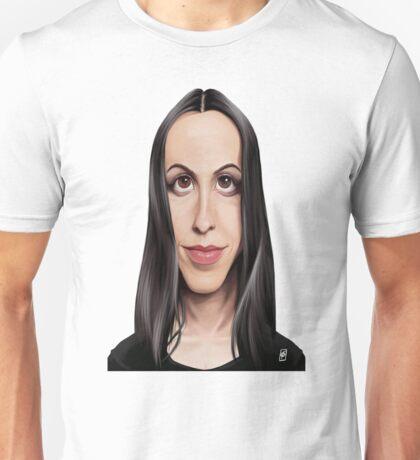 Celebrity Sunday - Alanis Morissette Unisex T-Shirt