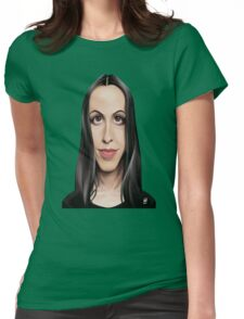 Celebrity Sunday - Alanis Morissette Womens Fitted T-Shirt