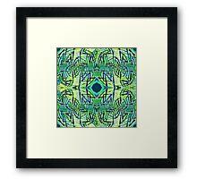 Loup-Mo Framed Print