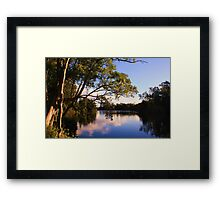 north tumbulgum ... Framed Print