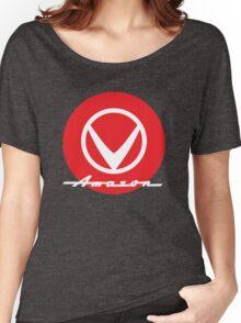 Volvo Amazon script emblem Women's Relaxed Fit T-Shirt
