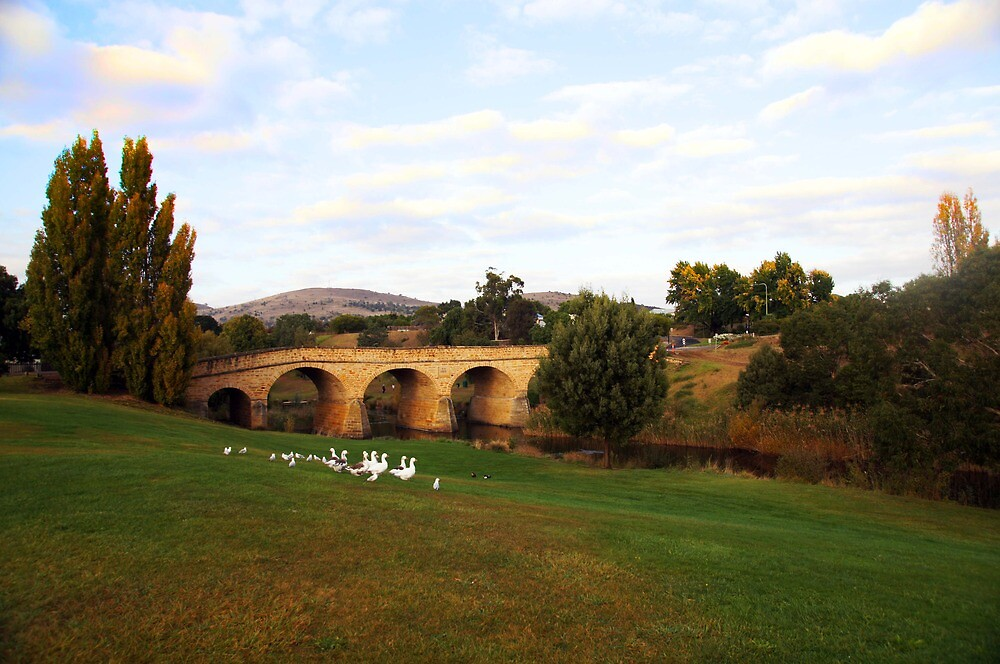 Beautiful Tasmania - the bridge at Richmond by georgieboy98
