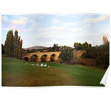 Beautiful Tasmania - the bridge at Richmond Poster