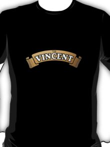 The Vincent Motorcycles emblem T-Shirt