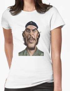 Celebrity Sunday - Che Guevara Womens Fitted T-Shirt
