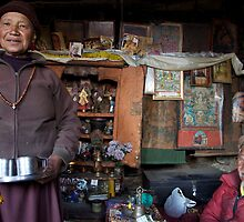 They call him the 100 Rupee Lama. Nepal by John Spies
