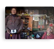 They call him the 100 Rupee Lama. Nepal Metal Print