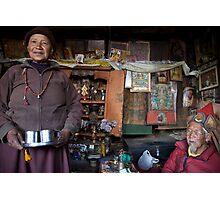 They call him the 100 Rupee Lama. Nepal Photographic Print