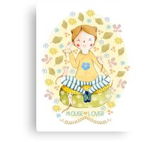 Mouse Lover Canvas Print