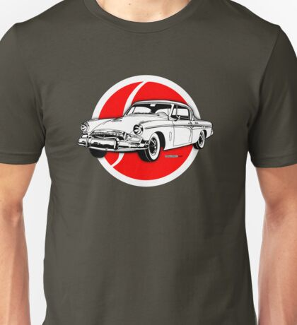 Studebaker President emblem and illustration Unisex T-Shirt