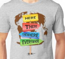 Directions Panels Wanderlust Unisex T-Shirt