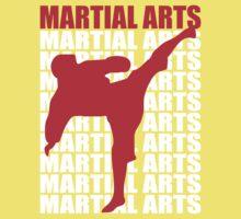 Martial Arts Baby Tee