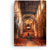 Rochester Cathedral interior  Canvas Print