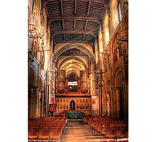 Rochester Cathedral interior  Photographic Print