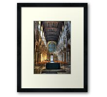 Rochester Cathedral interior   (2) Framed Print