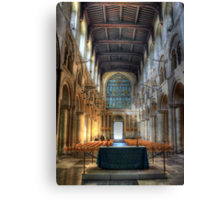 Rochester Cathedral interior   (2) Canvas Print