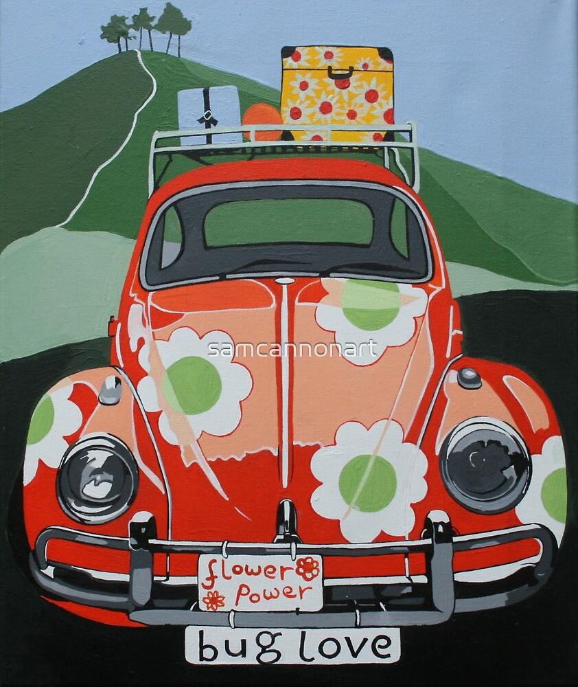 Bug Love by samcannonart