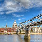 London South Walk Bridge by Thasan
