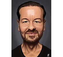 Celebrity Sunday - Ricky Gervais Photographic Print