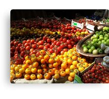 tomato squash Canvas Print