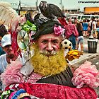 Many Faces Of The Coney Island Mermaid Parade -1 by Focusindigital