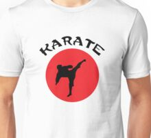 Karate Rising Sun Unisex T-Shirt
