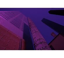 Words - Reaching For The Sky, Australia 2006 Photographic Print