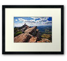 St Mary Peak Framed Print
