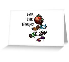 Horde Balloon Greeting Card
