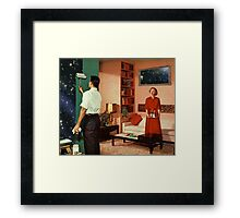 Paint your own universe Framed Print