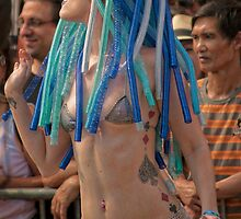 Many Faces Of The Coney Island Mermaid Parade -3 by Focusindigital