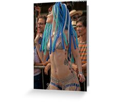Many Faces Of The Coney Island Mermaid Parade -3 Greeting Card