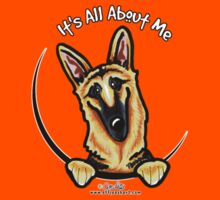 Pocket German Shepherd :: Its All About Me T-Shirt