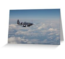 Spitfire - Last of the Line Greeting Card