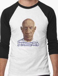 Celebrity Sunday - Pablo Picasso Men's Baseball ¾ T-Shirt