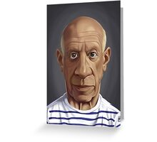 Celebrity Sunday - Pablo Picasso Greeting Card