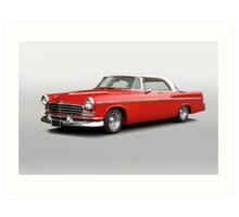 1956 Chrysler Windsor 'Highway Cruiser' Art Print