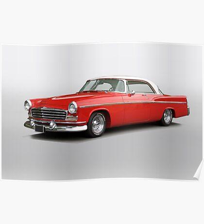 1956 Chrysler Windsor 'Highway Cruiser' Poster