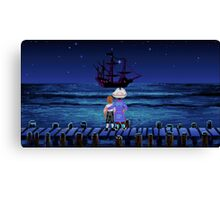 Guybrush & Stan (Monkey Island) Canvas Print