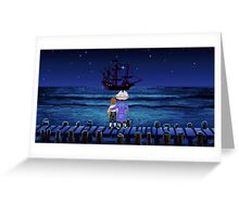 Guybrush & Stan (Monkey Island) Greeting Card