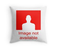 Image Not available: Red Throw Pillow