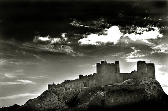 Bamburgh Castle - Northumberland, UK by Richard Flint