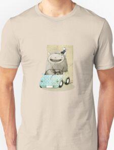 Monster In A Car T-Shirt
