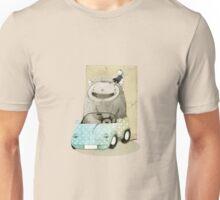 Monster In A Car Unisex T-Shirt